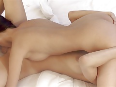 Christy Charming and Kitty Jane - cute lesbians sixty-nine