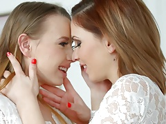 Shy girlfriend by Sapphic Erotica - Candy Sweet and Olivia