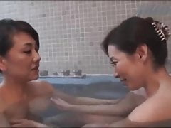 JAPANESE MATURES BATH