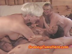 My HOMEMADE video of my Granny LESBIAN PARTY