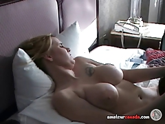 Canadian pussy licking compilation of sexy homemade lesbian