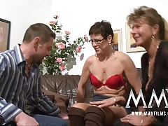 MMV Films Pierced mature wife gets cock