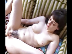 Gabrielle & Christiana lesbians in glasses 1 of 3