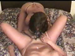 My nasty wife had pussy licked by lesbian friend. Amateur